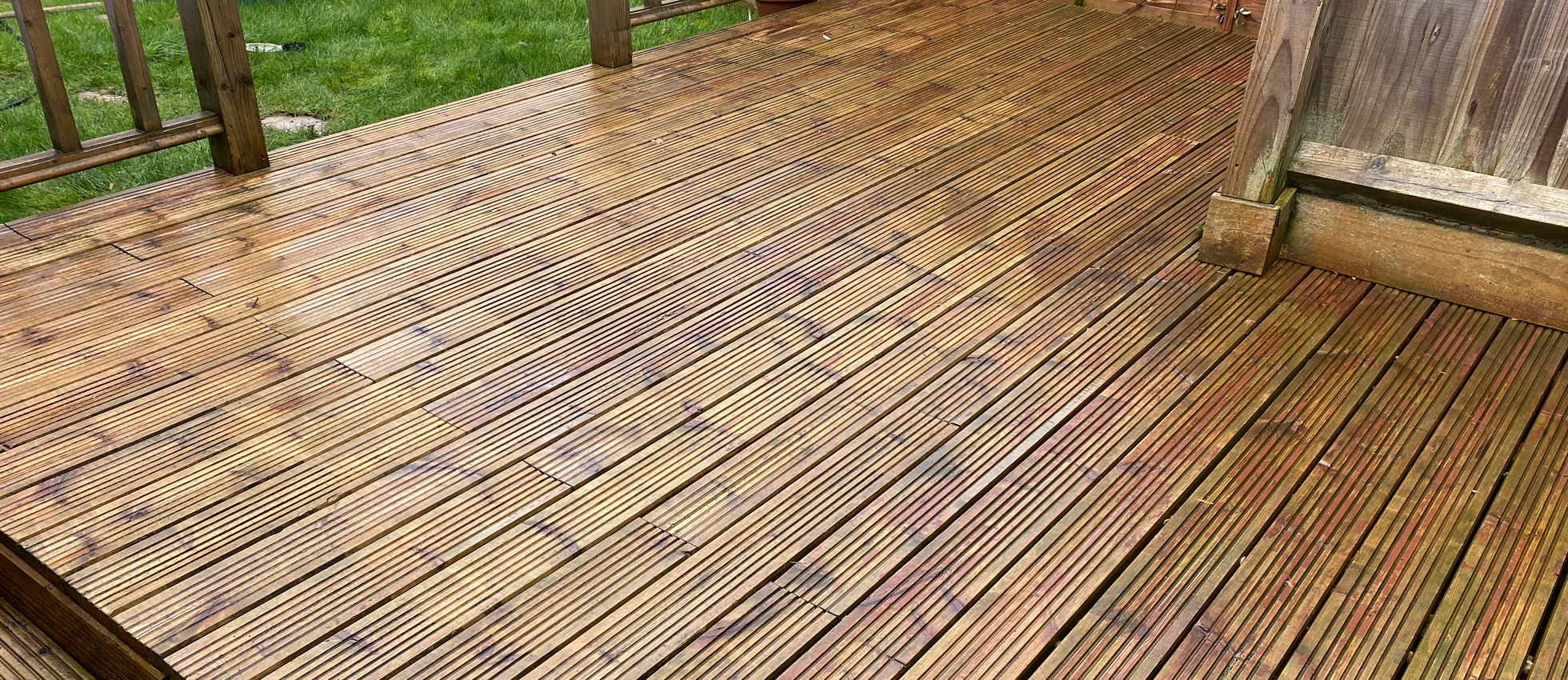 Patios and <br>Decking Cleaning